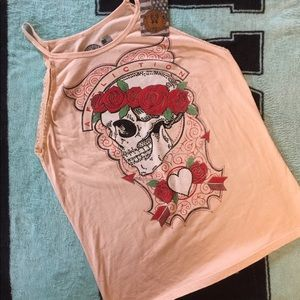 Affliction NWT Top